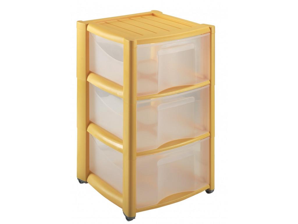 Skříňka se 3 zásuvkami 57x37x37cm