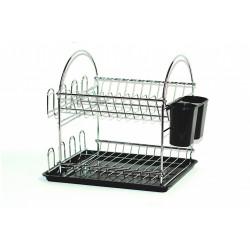 Odkapávač na nádobí 2patrový s podložkou