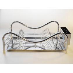 Odkapávač na nádobí nerez 47x32cm