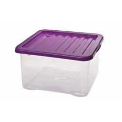 Box QUASAR s poklopem 28l