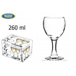 Sklenice MISKET 260 ml 6 ks