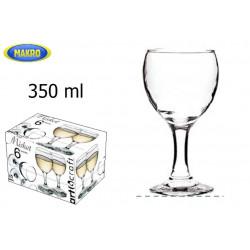 Sklenice MISKET 350 ml 6 ks