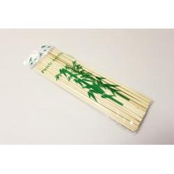 Špejle hrocené bambusové 100ks 30cm