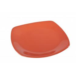 Talíř plytký 24cm oranžový