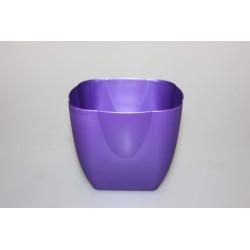 Květináč plast 13x13cm mix barev