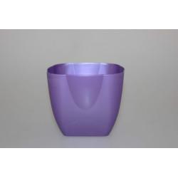 Květináč plast 16x16cm mix barev