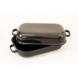 Dvoupekáč černý s pihou25cm 2l