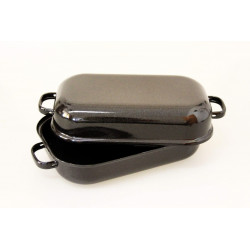 Dvoupekáč černý s pihou 35cm 4,4l
