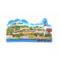 Bratislava dekorace magnetka