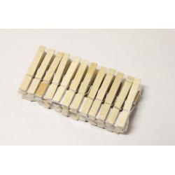 Kolíčky na prádlo 24ks dřevo
