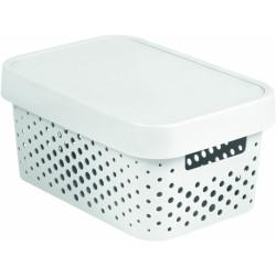 Box úložný Curver Infinity plastový s víkem 4,5L