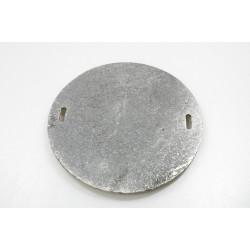 Plát kruh malý litina 17 cm
