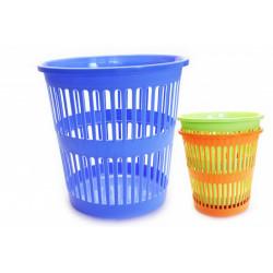 Koš na smetí 10L plastový mix barev