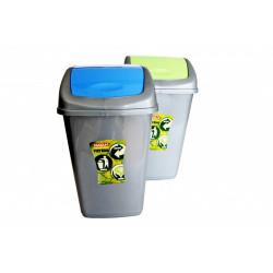 Koš odpadkový 15L plastový mix barev