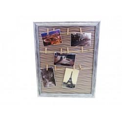 Držák na fotky s kolíky 40x50