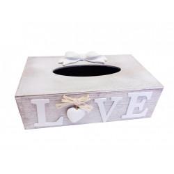 Krabička na papírové ubrousky