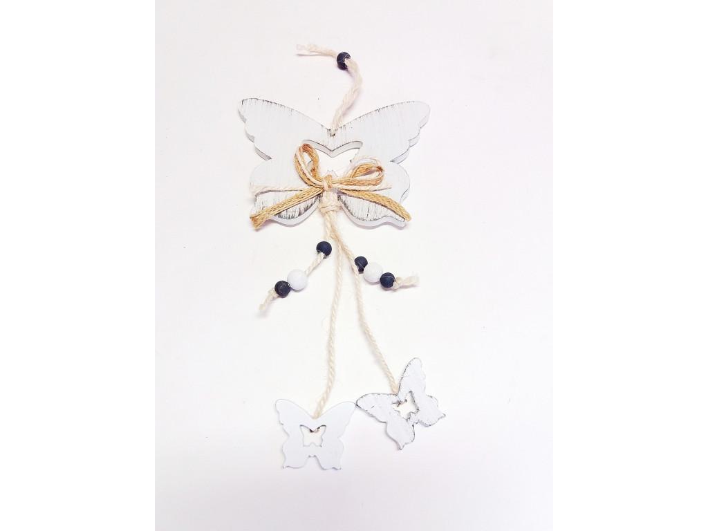 Dekorace motýl 20cm