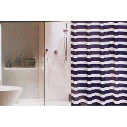 Závěs sprchový mořský tmavomodrý
