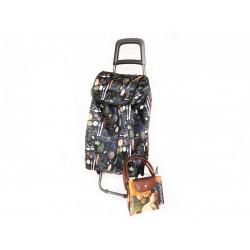 Taška na kolečkách + nákupní taška zdarma