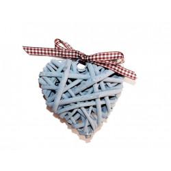 Dekorace srdce 10cm
