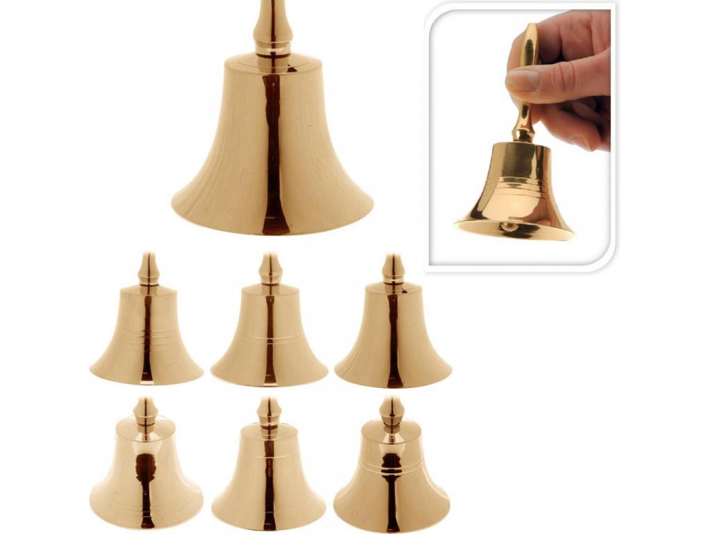 Zvonek NIKL 11cm mix zlatý
