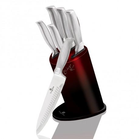 Nože sada 6ks BURGUNDY