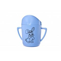 Hrnek kojenecký modrý + potisk