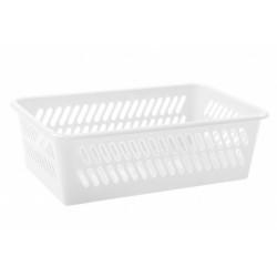 Košík MINI-MINI bílý