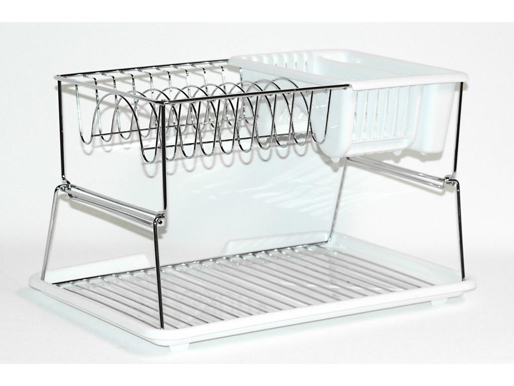 Odkapávač na nádobí 2 patrový