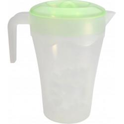 Džbán + víko 2L plast