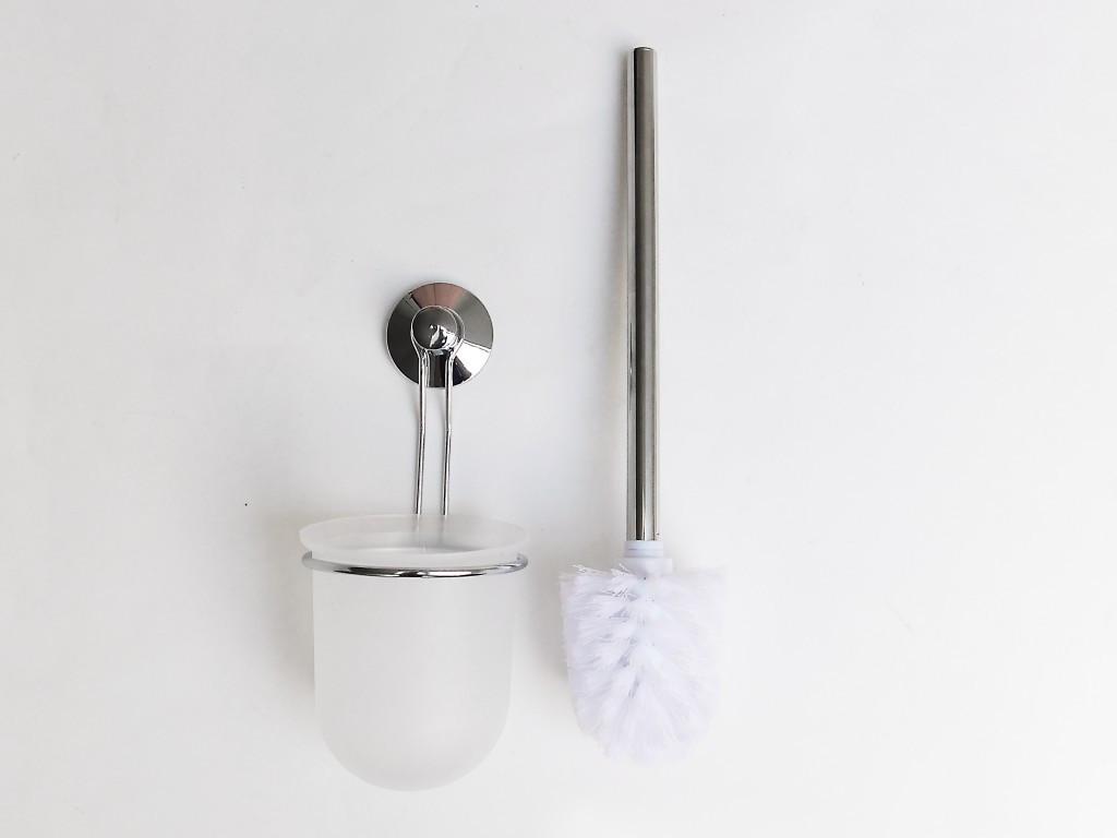 Držák na WC kartáč s přísavkou