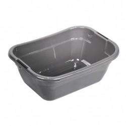 Vanička 23L plastová stříbrná