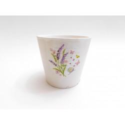 Květináč keramický 11cm LEVANDULE