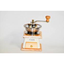 Mlýnek na kávu MODRÝ KVĚT keramický