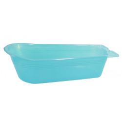 Vanička transparentní modrá