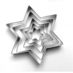 Vykrajovačky hvězdy 5ks