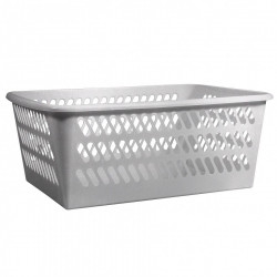 Košík MINI šedý