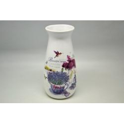Váza 19,5cm Levandule