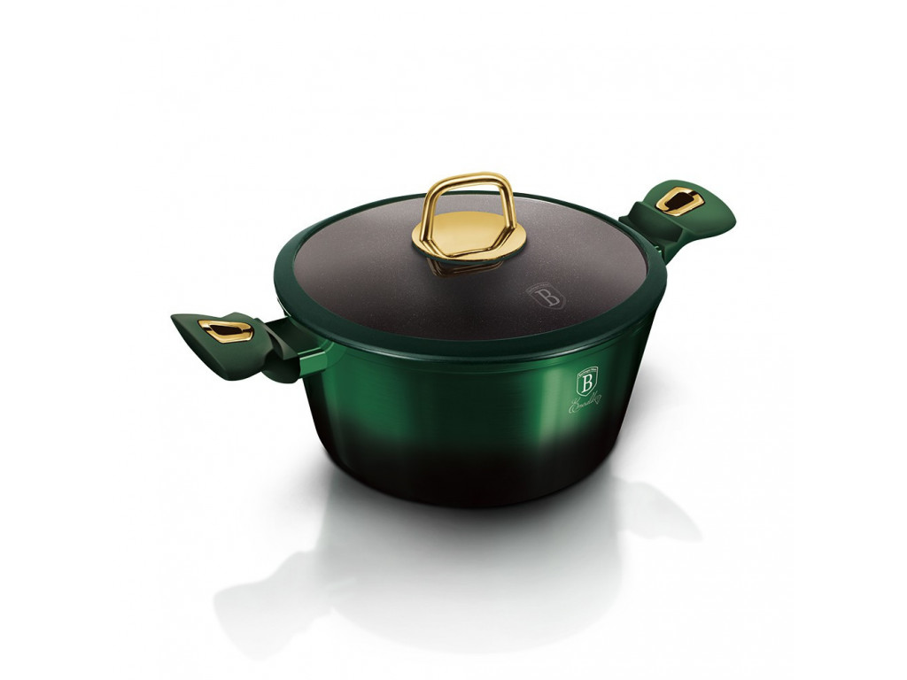 Hrnec + poklice 6l Emerald