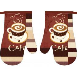 Chňapka kuchyňská COFFE II s magnetem