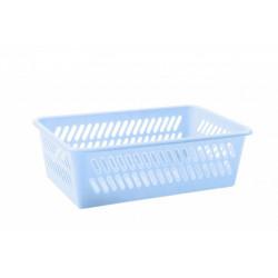 Košík 25,4x15,9x7,7cm modrý plastový
