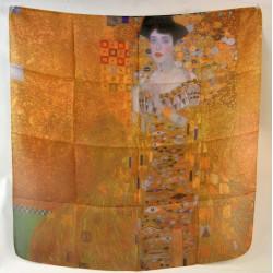 Šátek 70x70cm Klimt Adele