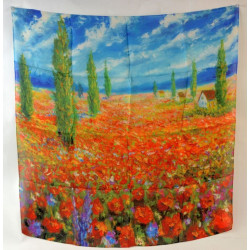 Šátek 70x70cm Renoir