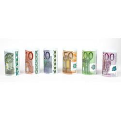 Pokladnička EURO 10x15cm různé barvy