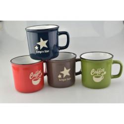 Hrnek Coffee Star různé barvy