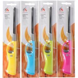 Zapalovač plynový 27cm FLAME různé barvy