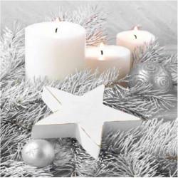 Ubrousky Vánoce stříbrné