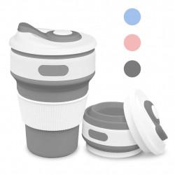 Pohár na kávu silikon skládací různé barvy