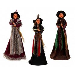 Čarodějnice stojící 110cm mix druhů