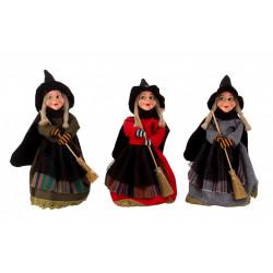 Čarodějnice stojící 20cm mix druhů